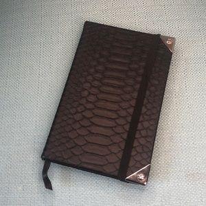 Alexander Wang Snake Skin Notebook